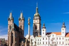 Hradec Kralove, République Tchèque Photos stock