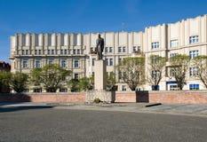 Hradec Kralove, repubblica Ceca fotografia stock libera da diritti