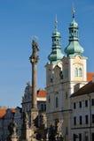 Hradec Kralove, Tschechische Republik Stockbilder