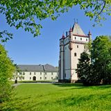 Hradec nad Moravici, repubblica Ceca Fotografie Stock