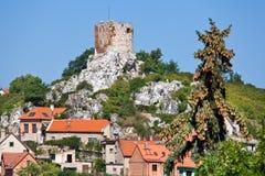 Hradek Kozi, городок Mikulov, южная Моравия, чехия Стоковые Фото