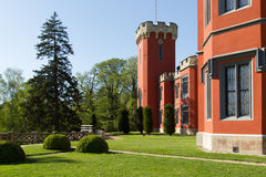 Hradek u Nechanic Chateau Stockfoto