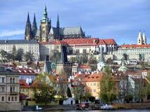 Hradschin à Prague Photo libre de droits