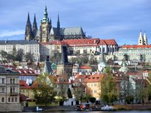 Hradschin в Праге Стоковое фото RF