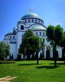 Hram Sveti Sava Στοκ Εικόνες