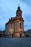 Hranice na的Morave教会 免版税图库摄影