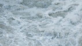 Hraunfossar瀑布发怒的水  影视素材
