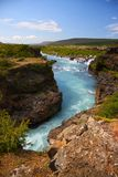 Hraunfossar Stock Photography