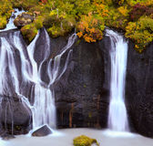 Hraunfossar Royalty Free Stock Photography