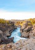 Hraunfossar waterfall, Iceland Stock Photos