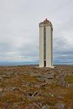 Hraunhafnartangi lighthouse Stock Image