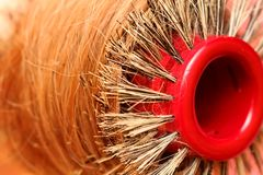 hårborste Royaltyfri Fotografi