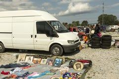 Hrelic flea market in Zagreb, Croatia Royalty Free Stock Photo