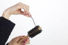 hårförlust Royaltyfri Bild
