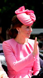 HRH The Duchess of Cambridge royalty free stock images
