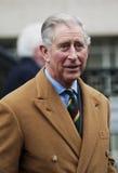 HRH que el Príncipe de Gales primero visita a Barnsley Imágenes de archivo libres de regalías