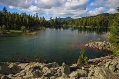 Hridsko湖 库存照片