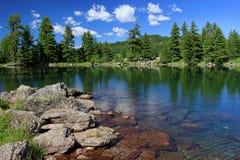 Hridsko lake Royalty Free Stock Images