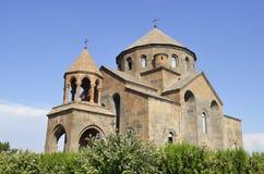 Hripsime kyrka arkivbild
