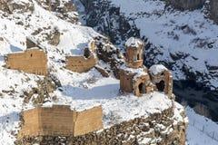 Hripsime Monestry στην αρχαία πόλη Ani, Kars, Τουρκία Στοκ Φωτογραφίες