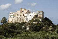 Hrissoskalitissa Kloster, Kreta Lizenzfreie Stockfotos