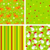 сhristmas backgrounds. Set of backgrounds for christmas Royalty Free Stock Photos