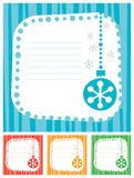 Сhristmas banners Royalty Free Stock Photography