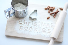 сhristmas cookies Stock Images