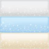 ?hristmas e bandeiras do ano novo ajustadas Imagens de Stock