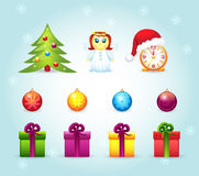 сhristmas_icon Stock Images