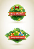 Сhristmas labels Stock Images