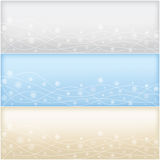 Сhristmas and new year banners set Stock Images