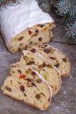 Hristmas sött bröd Arkivfoto