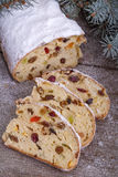Hristmas sweet bread Stock Photo