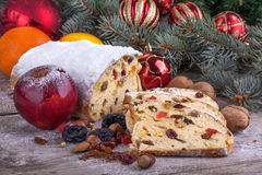Hristmas sweet bread Stock Photography