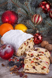 Hristmas sweet bread Royalty Free Stock Photo
