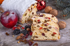 Hristmas sweet bread Royalty Free Stock Photography