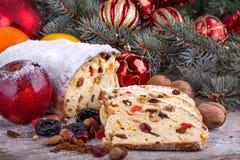 Hristmas sweet bread Royalty Free Stock Image