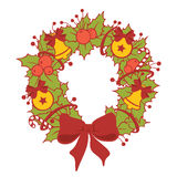 Сhristmas wreath Royalty Free Stock Images