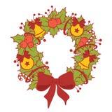 Сhristmas wreath Royalty Free Stock Images