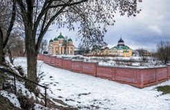 Hristorozhdestvensky修道院在特维尔 库存照片