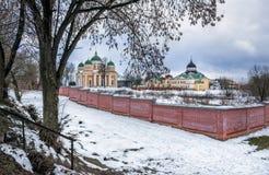 Hristorozhdestvenskyklooster in Tver stock foto