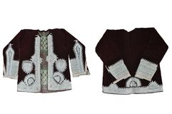 Hrka - traje ricamente decorado do nacional de Gorani da veste imagem de stock royalty free