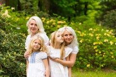 härlig familj Royaltyfri Fotografi
