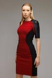 Härlig futuristisk kvinna Royaltyfri Foto
