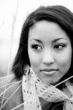 härlig kvinna för afrikansk amerikan Royaltyfri Fotografi