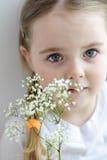 Härlig liten flicka Arkivfoton