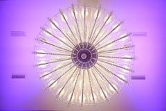 härlig ljuskrona Royaltyfria Bilder