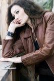 härlig modemodell Royaltyfri Fotografi