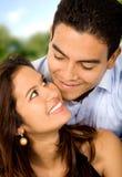 härlig parförälskelse Royaltyfria Foton